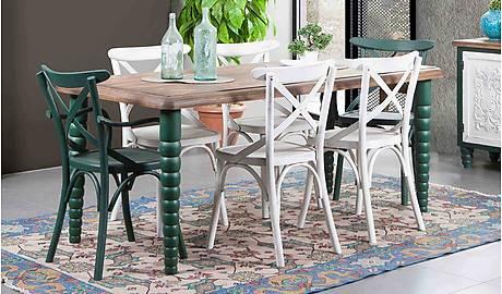 Mutfak Masa Sandalye Takimi Yildiz Mobilya