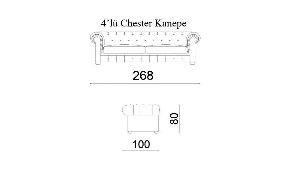 Siena Chester Kanepe