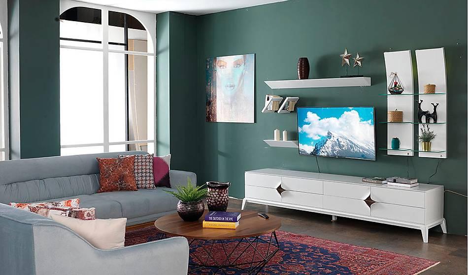 Zirve Beyaz Tv Ünitesi