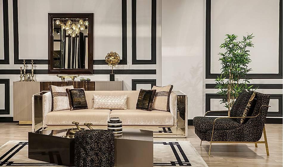 Premium Luxury Salon Takýmý