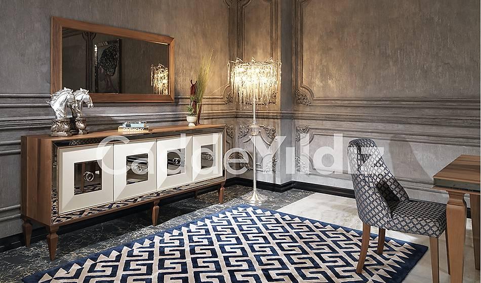 Rustik Ceviz Luxury Konsol