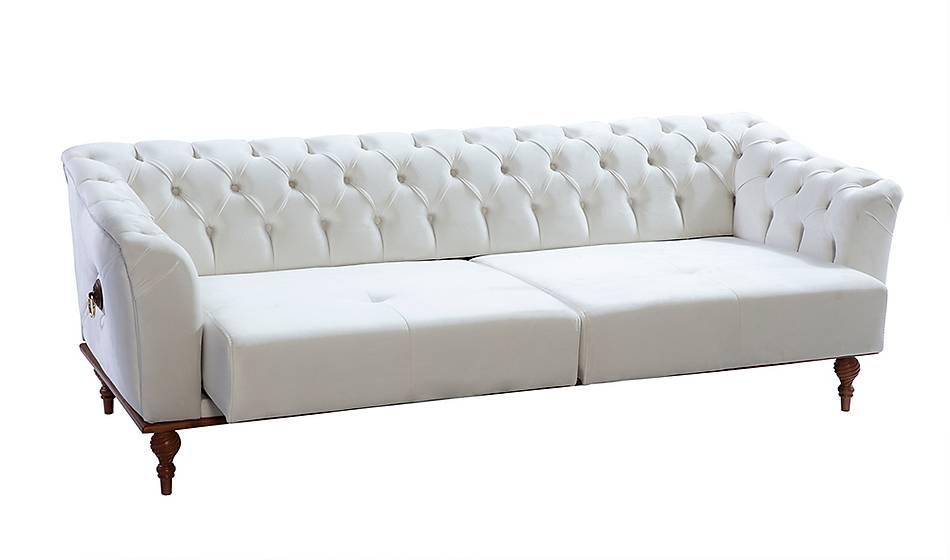 Ada Salon Takýmý Beyaz
