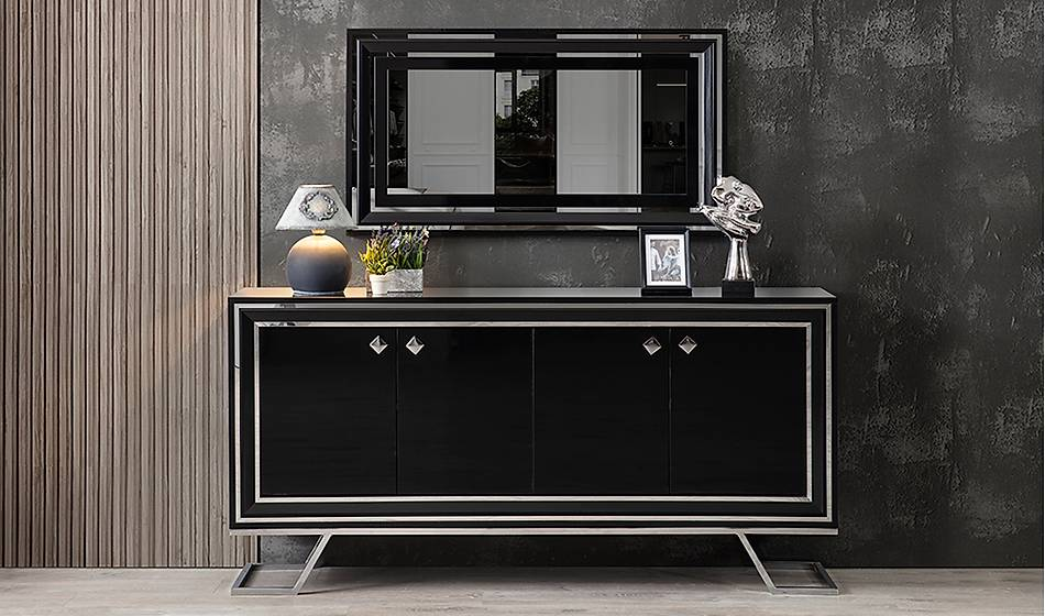 Rixos Luxury Siyah Konsol