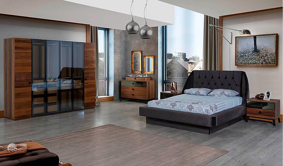 Loca Ceviz Yatak Odası