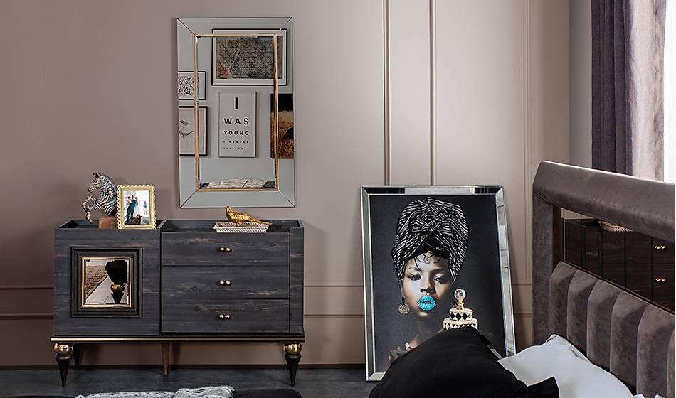 Negro Luxury Yatak Odasý