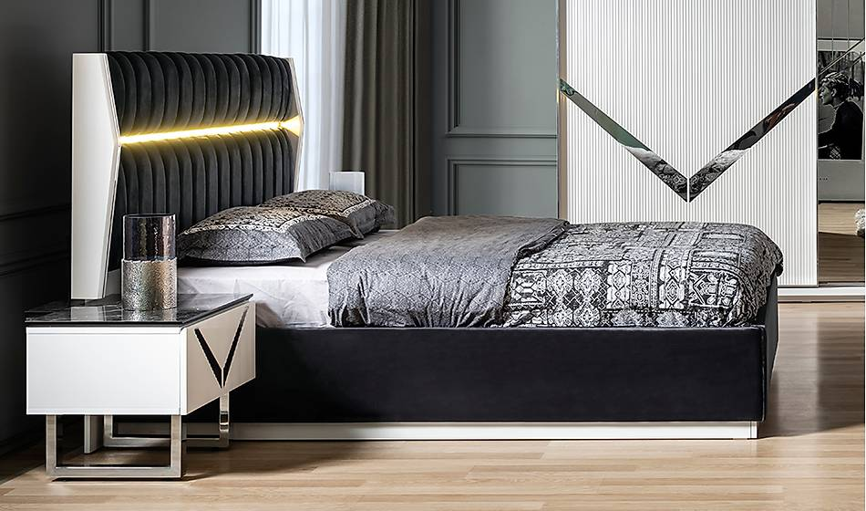 Kanyon Bazalı Yatak Odası