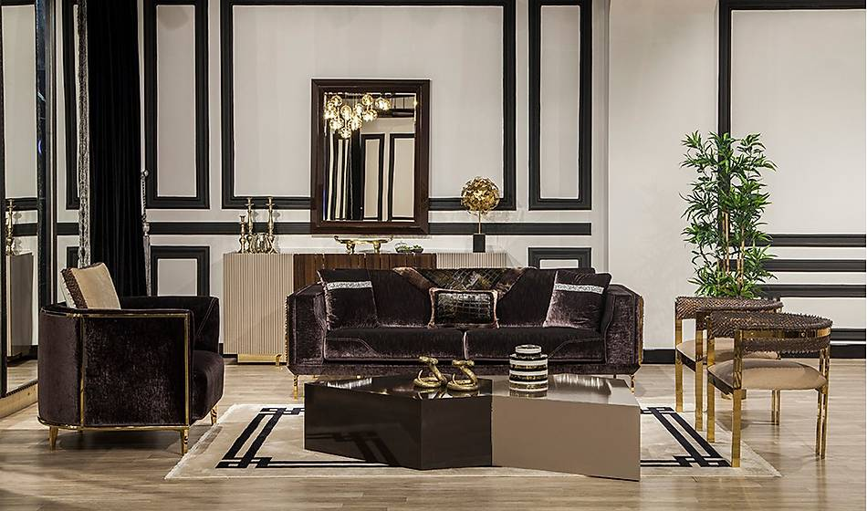 Premium Luxury Orta Sehpa