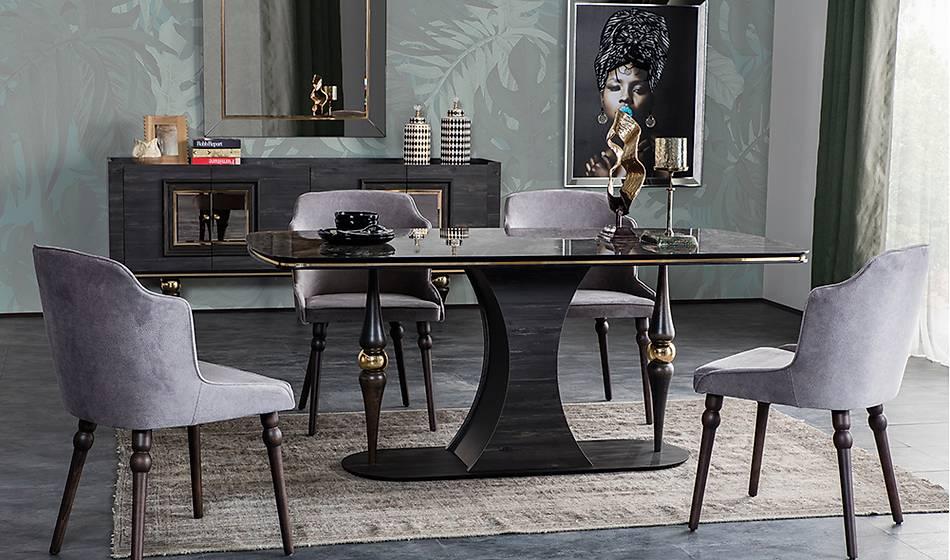 Negro Luxury Yemek Odası