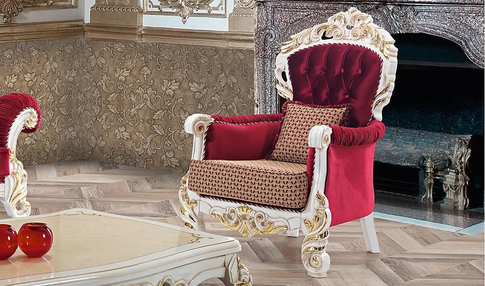 Lusso Klasik Salon Takýmý
