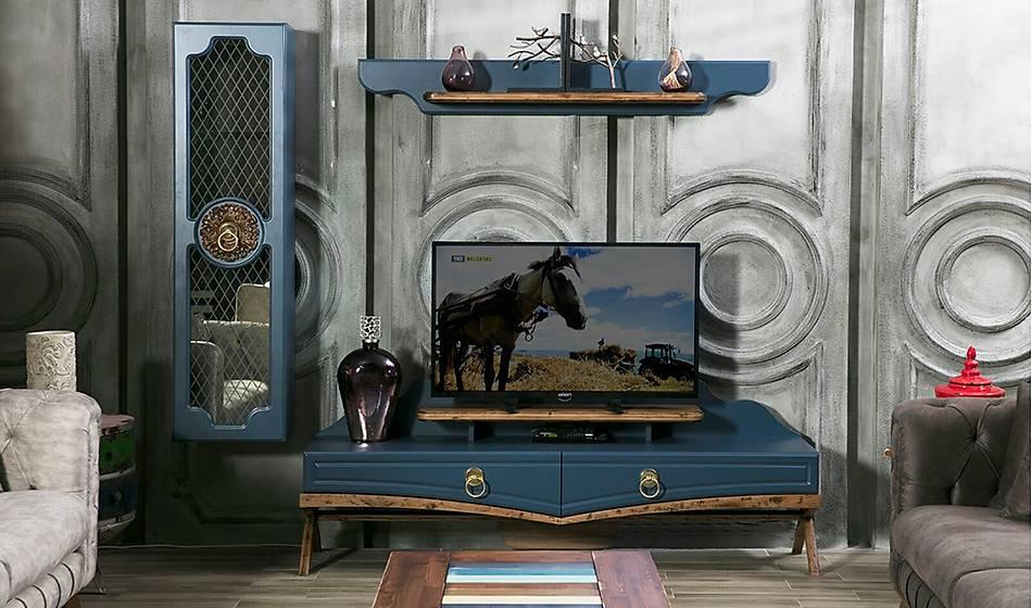Bentley Ahþap Tv Ünitesi