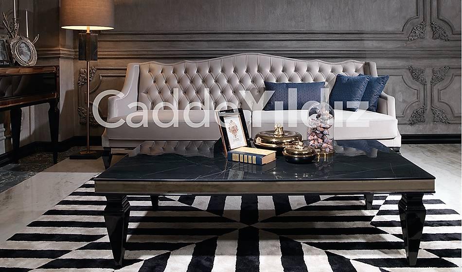 Rustik Üçlü Luxury Kanepe - 2062