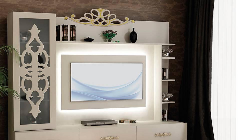 White Tv Ünitesi