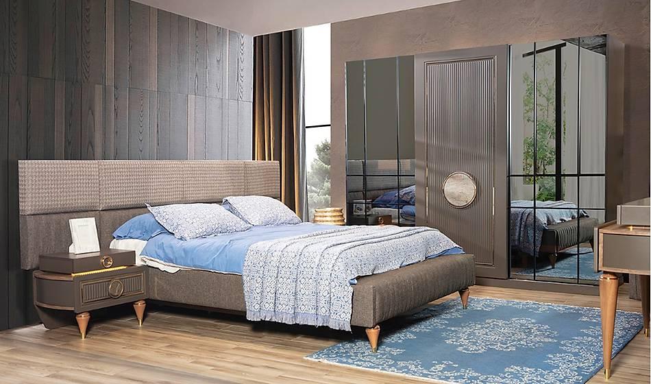 Kervan Bazalı Yatak Odası