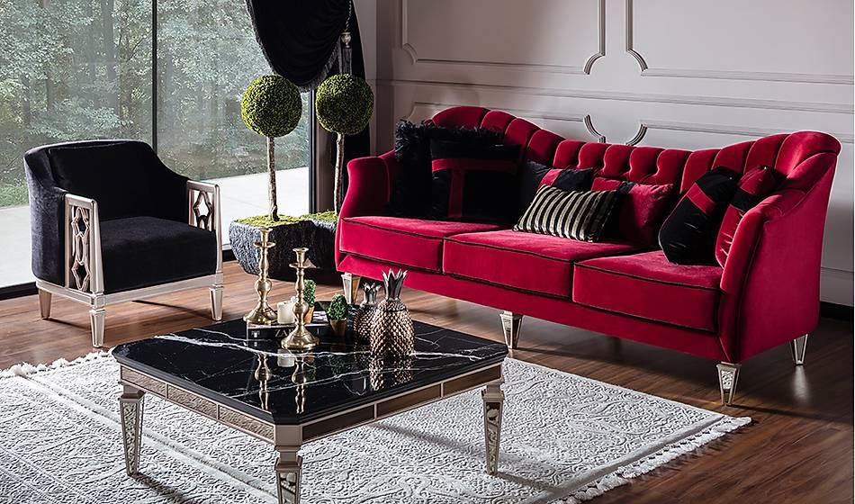 Elegant Lüks Salon Takýmý