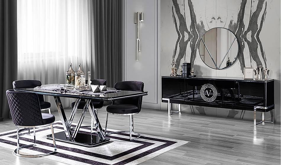 Versace Luxury Yemek Odasý
