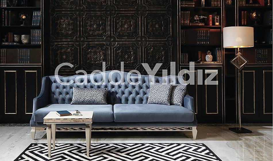 Rustik Dörtlü Luxury Kanepe - 2063