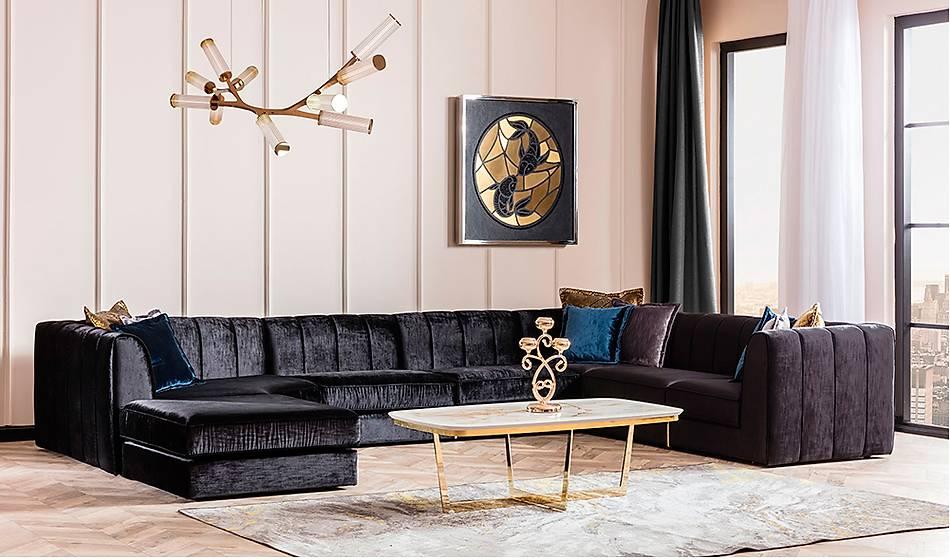 Serenýty Luxury Köþe Takýmý