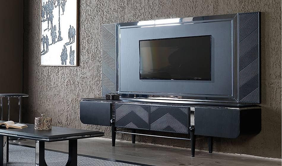Vienna Siyah Tv Ünitesi