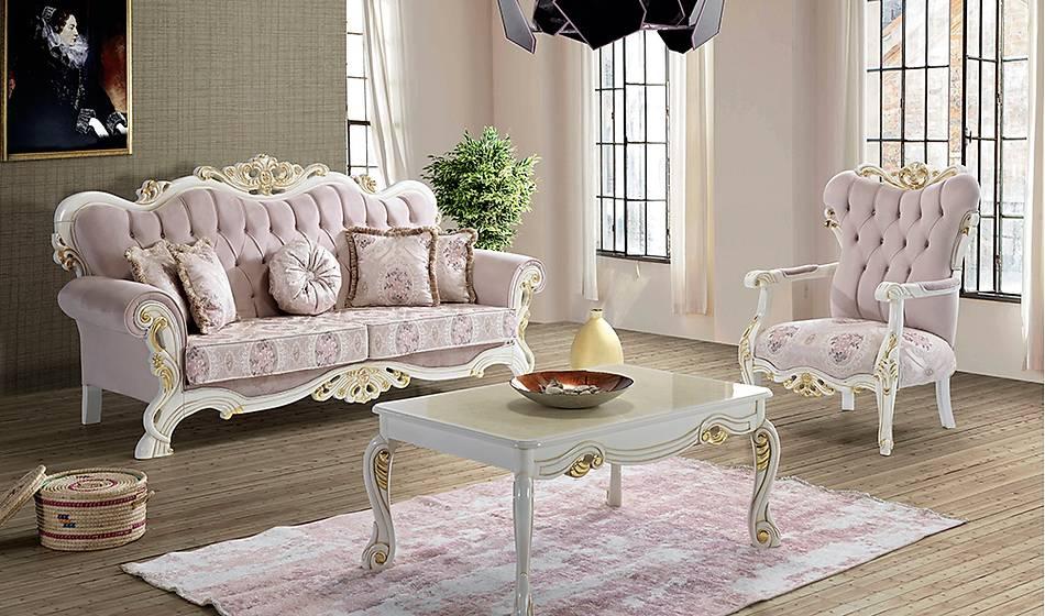 Rustýc Klasik Salon Takýmý