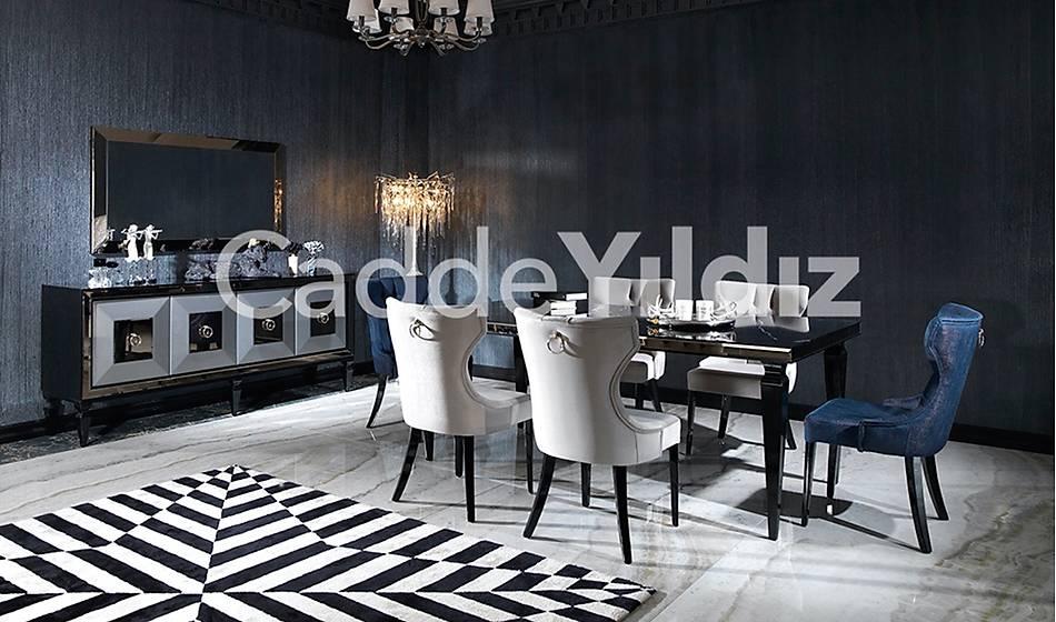 Rustik Luxury Yemek Odasý