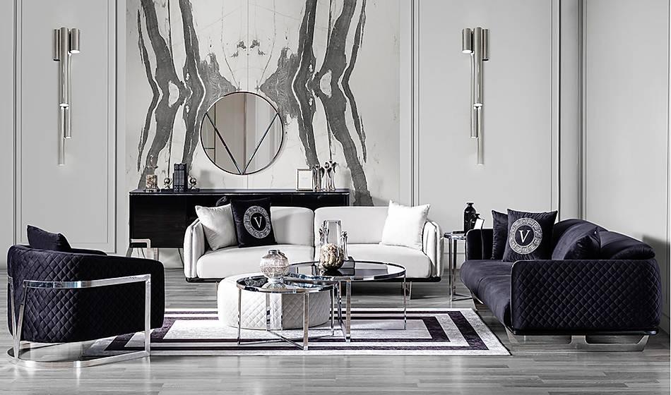 Versace Luxury Orta Sehpa