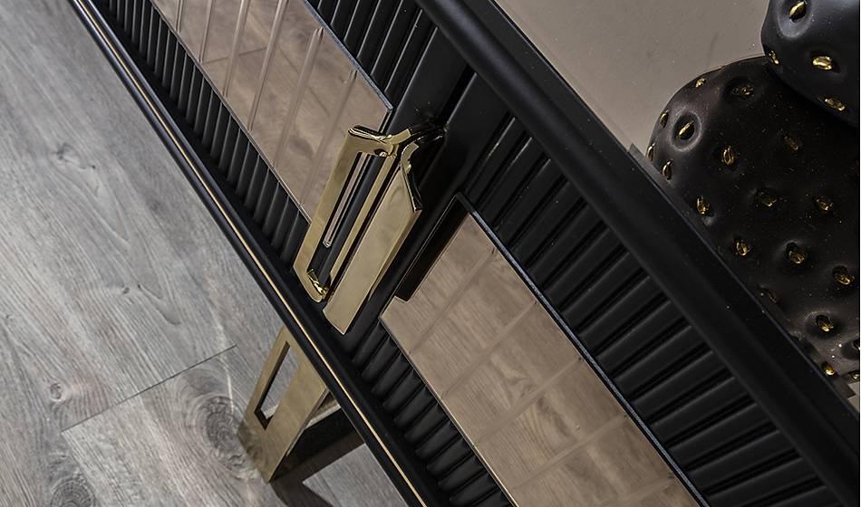 Cavalli Luxury Siyah Yemek Odasý