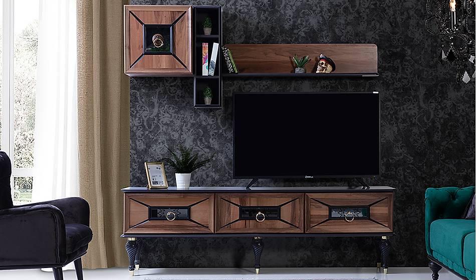 Ada Tv Ünitesi - Ceviz