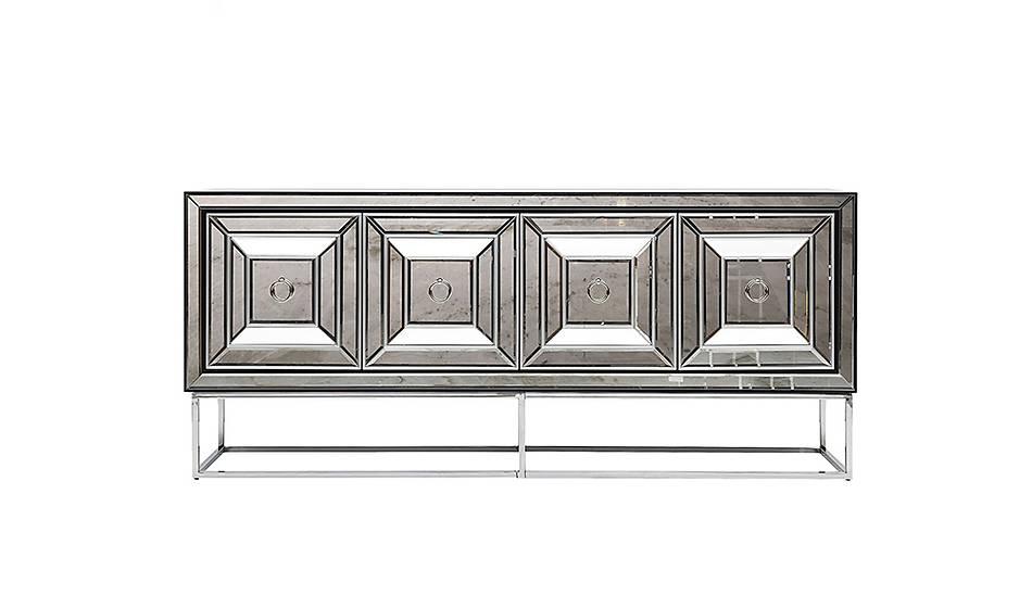 Fendi Black & Silver Luxury Konsol