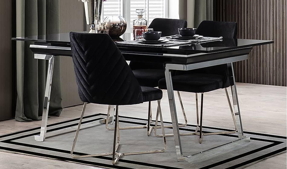 Rixos Luxury Siyah Masa Takýmý