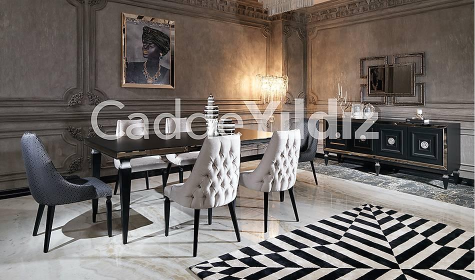 Varna Black Luxury Yemek Odasý