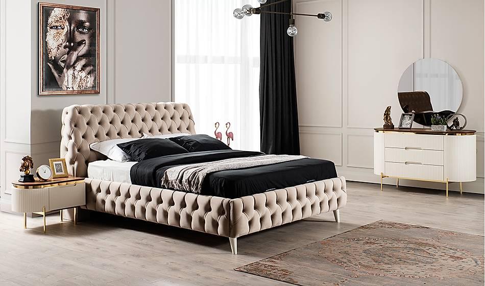 Mood Ekru 6 Kapaklı Yatak Odası