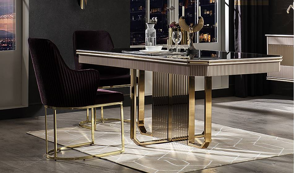 Cavalli Luxury Yemek Masasý Takýmý