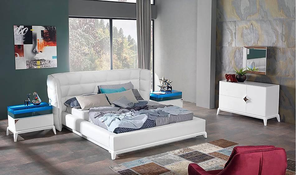 Zirve Beyaz Yatak Odasý