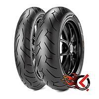 Pirelli Diablo Rosso II 120/70ZR17 (D) (58W) ve 240/45ZR17 (82W)