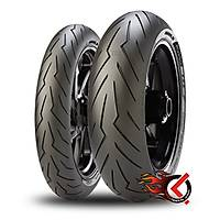 Pirelli Diablo Rosso III 120/70ZR17 (D) (58W) ve 240/45ZR17 (82W)