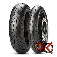 Pirelli Diablo Rosso Scooter 120/70R15 56H ve 160/60R14 65H