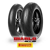 Pirelli Diablo Rosso IV 120/70ZR17 (58W) ve 200/55ZR17 (78W)