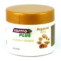 Softto Plus Argan Yaðlý Saç Bakým Maskesi 250 ml
