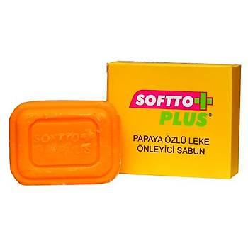 Softto Plus Leke Karþýtý Sabun Papaya Özlü Leke Sabunu