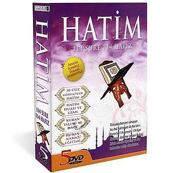 HATÝM SETÝ 114 SURE 114 HAFIZ ( 5 DVD )