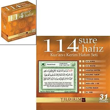KURAN-I KERÝM HATÝM SETÝ 114 SURE 114 HAFIZ (31 VCD )