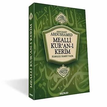 Mealli Kur'an-ı Kerim / 15 DVD  ABDULBASİT ABDUSSAMED