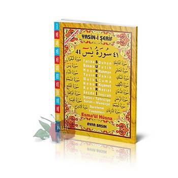 Orta Boy 41 Yasin Arapça - Fihristli