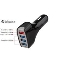 Hızlı Araç Şarj Adaptörü Usb 3.0 4 Port USB  5 V 7A