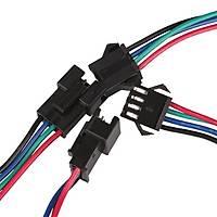 4 Pin Dişi-Erkek Dc Kablo