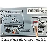 Sony ve Samsung DVD BluRay Ev Sinema Sistemi Hoparlör Kablosu 10 mt