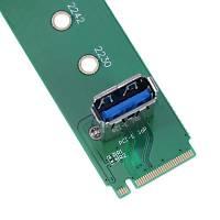 M.2 NGFF PCI-E Kanal USB3.0 Port Dönüştürücü