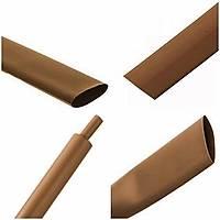 Daralan Makaron - 6.4 mm - Kahverengi - 1 Metre - I-Phone Kablo ile Uyumludur