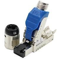 Cat7 Endüstriyel Tip IP20 Stp Rj45 Jack