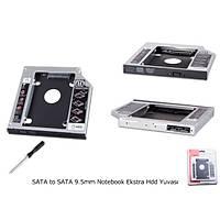 SATA to SATA 9.5mm Notebook Ekstra Hdd Yuvası